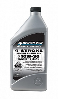 Масло Quicksilver 10w30 1l полу-синтетика